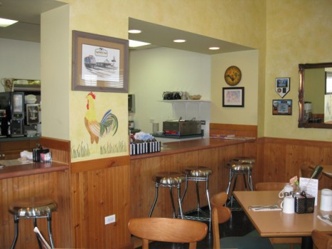 EggCetera Cafe - Interior Views
